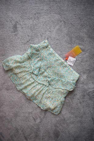 36 S bershka spódnica spódniczka falbany falbankami