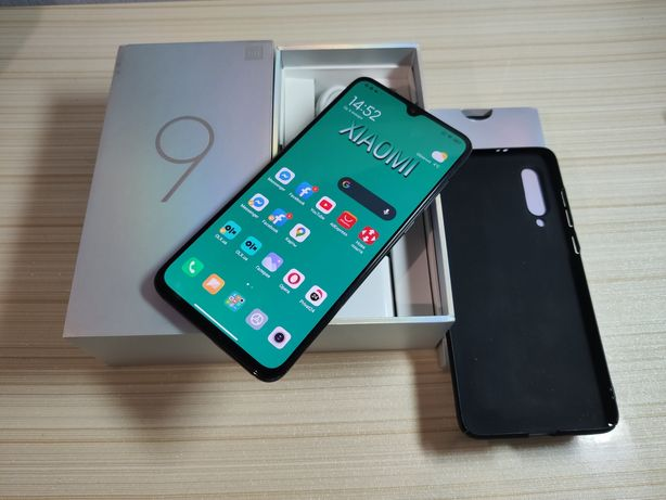 Xiaomi mi 9 6/64,  Piano Black. Snapdragon 855