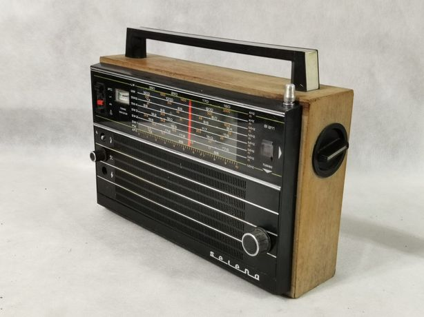 Radio Selena Tento Ussr CZYSZCZENIE MAGAZYNU Wyprzedaż boombox Vintage