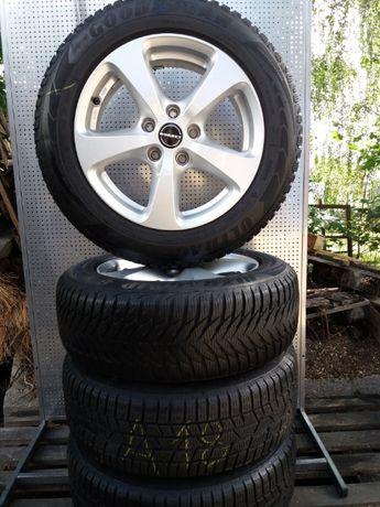 Koła aluminiowe zimowe Borbet 205/60R16 5x112 audi/vw Continental