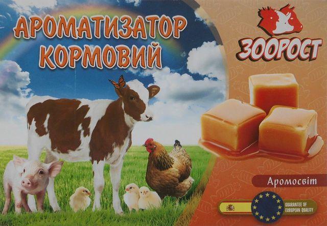 Ароматизатор с подсластителем для животных и птиц .