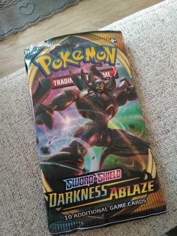 Karty Pokemon Darknest Ablaze booster pack
