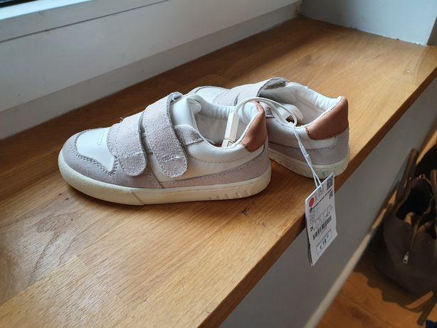 Buty na rzepy trampki Zara nowe 25