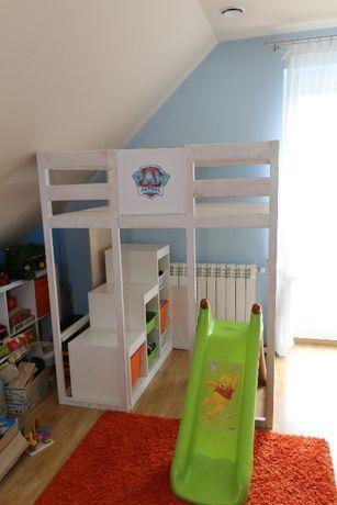 Domek dla dzieci, baza psiego patrolu, zamek