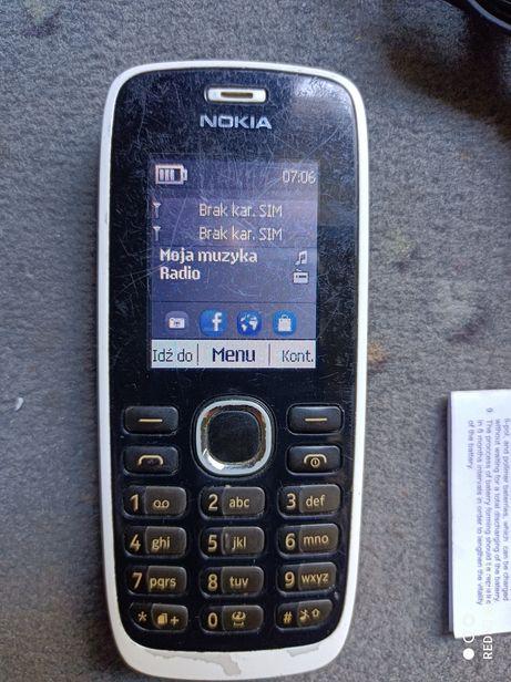 Nokia 112 z ładowarką i pudełkiem