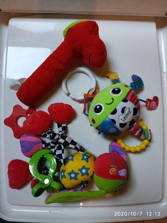 Zabawki dla maluszka, do zawieszenia, piszczałka, gryzak
