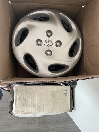"4x Jantes Peugeot 15"" NOVAS"