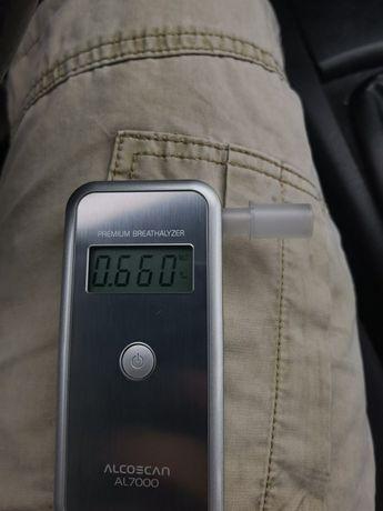 Alkomat alcoscan al7000 sprawny do kalibracji