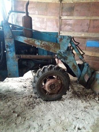Трактор Мтз 82 с погрущчиком