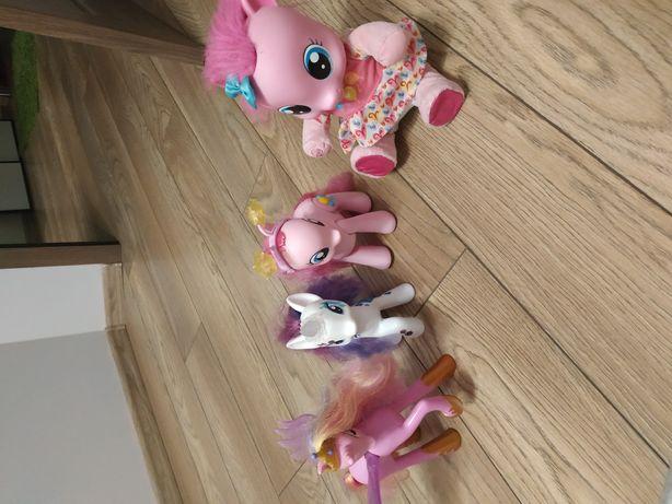 Zestaw kucyków my little pony mówiące świecące śpiewające w języku pl