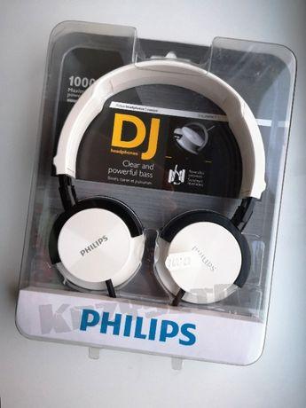Nowe! Słuchawki przewodowe Philips SHL3000WT Białe. WARTO!