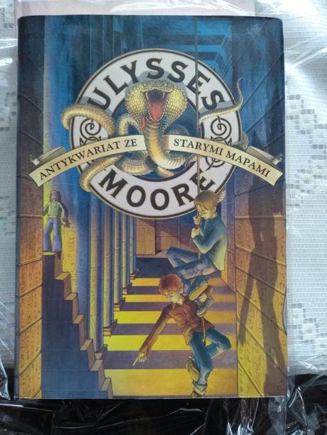 """Ulysses Moore- """"Antykwariat ze starymi mapami"""" TWARDA okładka z obwolu"""