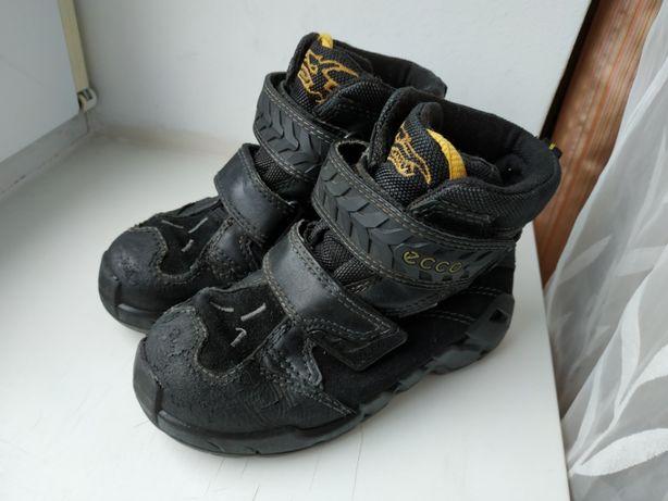 Кожаные зимние ботинки Ессо 27р. (18 см.) состояние на 3
