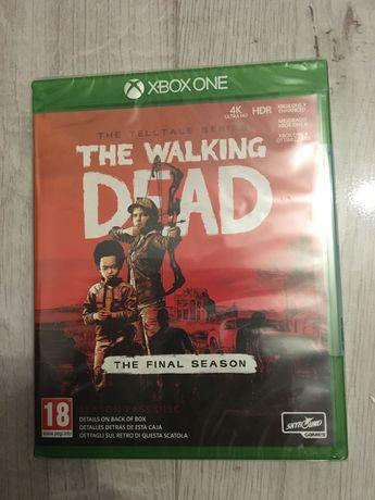 The Walking Dead finał season Xbox one
