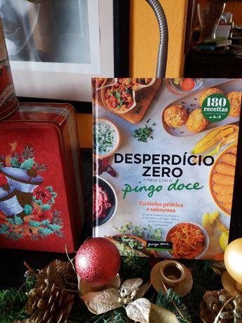"Livro de receitas deliciosas "" Zero desperdício""novo"