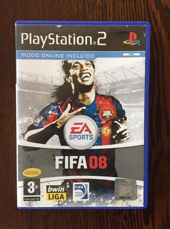 Jogo Playstation 2 - Fifa 08