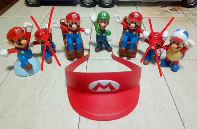 Figuras Super-Mário