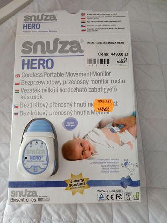 Snuza hero monitor oddechu SIDS z nową