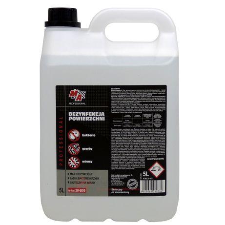 Płyn do dezynfekcji powierzchni DEZOFAST bakterie grzyby wirusy 5 litr