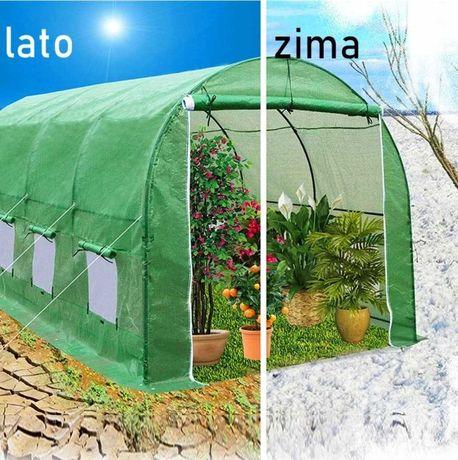 Tunel foliowy ogrodowy rozkładany 6x3x2m wielosezonowy