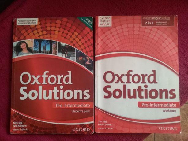 ZESTAW Oxford Solutions Pre-Intermediate Student's Book + Workbook