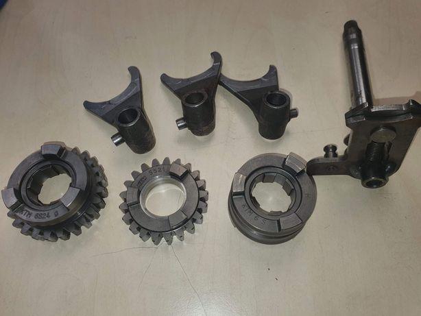 Wodziki zębatka tryb zmieniacz KTM SX EXC skrzynia biegów Serwis
