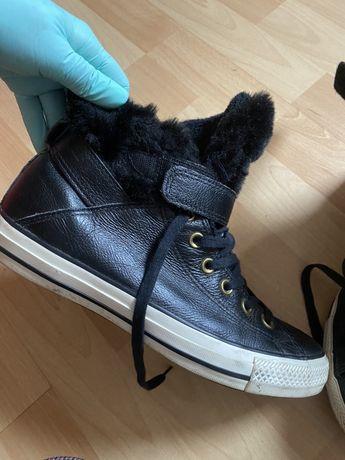 Зимние сапоги ботинки кеды Converse Ecco Clarks