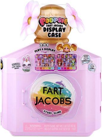 Пупси Кейс дисплей для хранения слаймов и питомец Poopsie Fart Jacobs