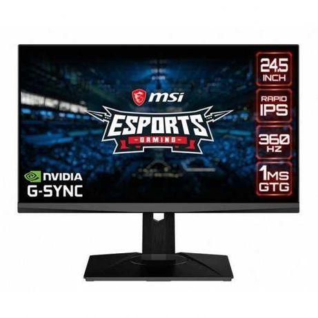 """Promoção - MSI Oculus NXG253R 24.5"""" LED IPS FullHD 360Hz G-Sync"""