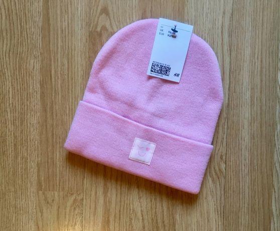 Нежная шапка для девочки H&M, шапочка, размер 1,5-4 г, 92-104
