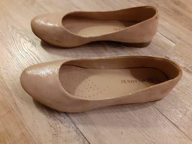 Buty kremowe dla dziewczynki