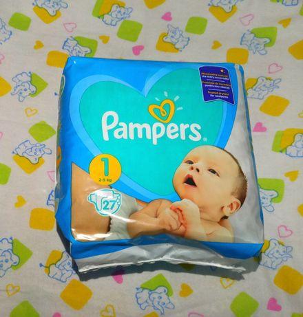 Подгузники Pampers 1, 27 шт