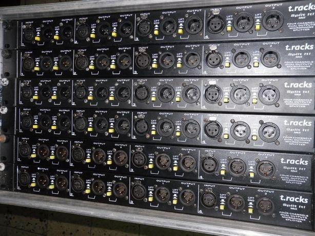 1 Rack de Splitters 1 in 3 out 24 Vias