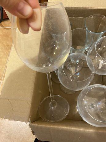 Kieliszki wino i szmpana ,prosseco po 4 sztuki