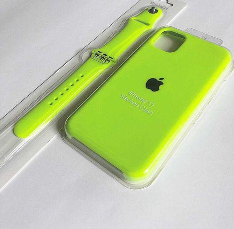Silicone Case для iPhone 7+/8+; X/Xs/; Xs Max; Xr; 11; 11 Pro;11ProMax