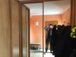 szafa do zabudowy przesuwne drzwi z lustrem 140cm i 80cm dł, 240 wysok