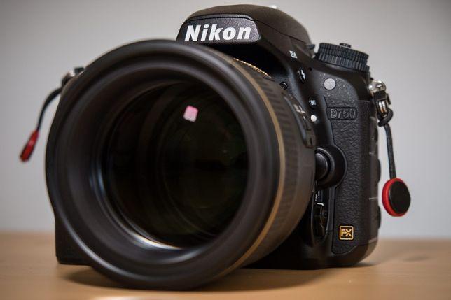 NIKON D750 - Máquina Fotográfica Reflex Full-Frame