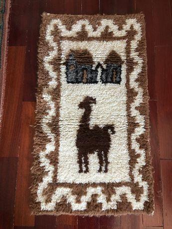 Tapete artesanal do Perú