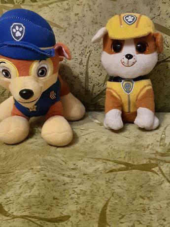 Мягкая  игрушки  щенячий  патруль
