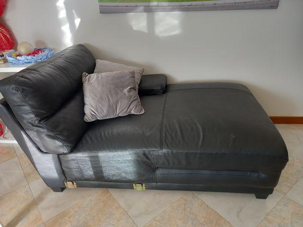 Chaise longue de pele