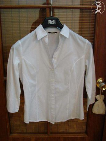 Блузка-рубашкаGeorge белая на девочку (школьная) на 9-11 класс