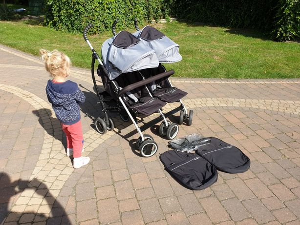 Wózek spacerowy bliźniaczy Easy Go Duo Comfort