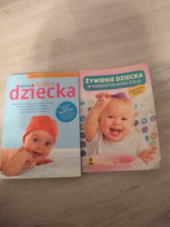 Książki o pielęgnacji i diecie niemowląt