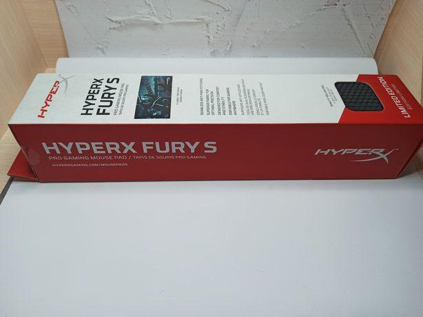 Игровая поверхность, коврик HyperX Fury S Shroud edition (900x420)
