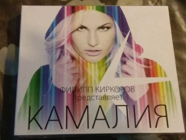Двойной CD Камалия + DVD