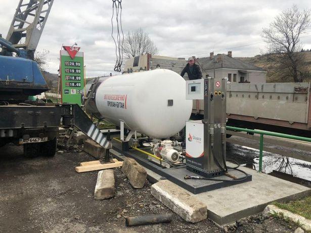 Газовий модуль АГЗС  10м3 заправка газова