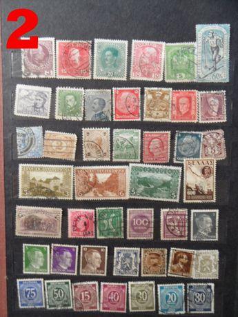 stare znaczki pocztowe cały świat
