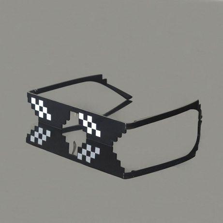 PROMOCJA Prezent dla dzieci Okulary Minecraft - mix wzorów 27PLN/SZT