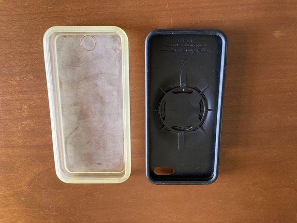 Quad-Lock case com capa impermeável para iphone 5 ou SE