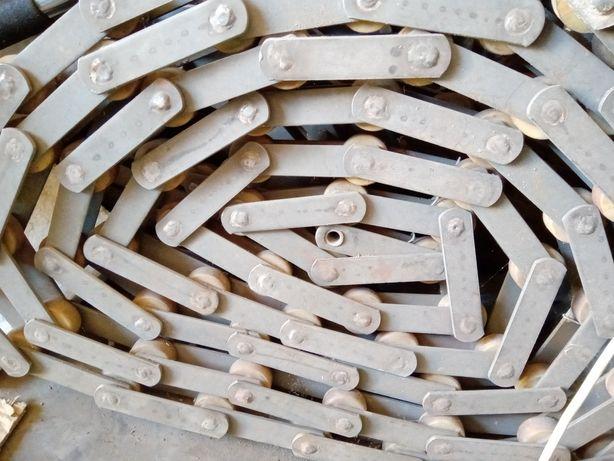 Цепь тяговая пластинчатая катковая из нержавеющей стали